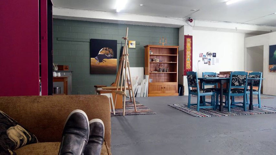 Inside Art and Soul Studio - Christchurch